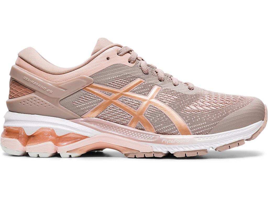 Women's GEL-KAYANO 26 | Fawn/Rose Gold | Running Shoes | ASICS