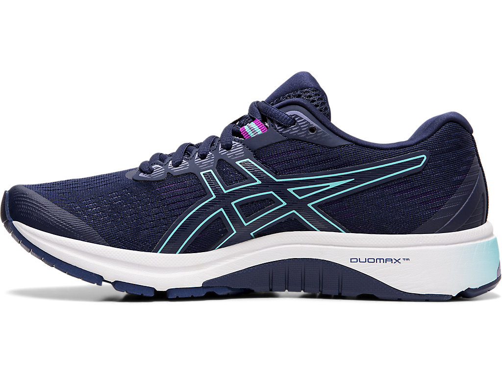 Women's GT-1000 8 (D)   Peacoat/ Ice Mint   Running Shoes   ASICS