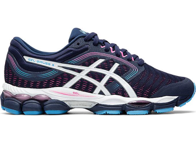 Women's GEL-ZIRUSS 3 | Peacoat/White | Running Shoes | ASICS