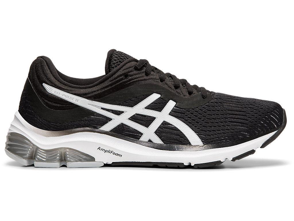 Women's GEL-PULSE 11 | Black/ Piedmont Grey | Running Shoes | ASICS
