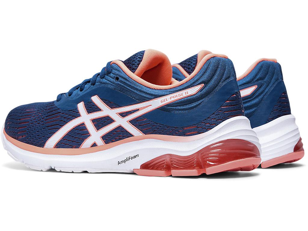 Women's GEL-PULSE 11 | Mako Blue/Sun Coral | Running Shoes | ASICS