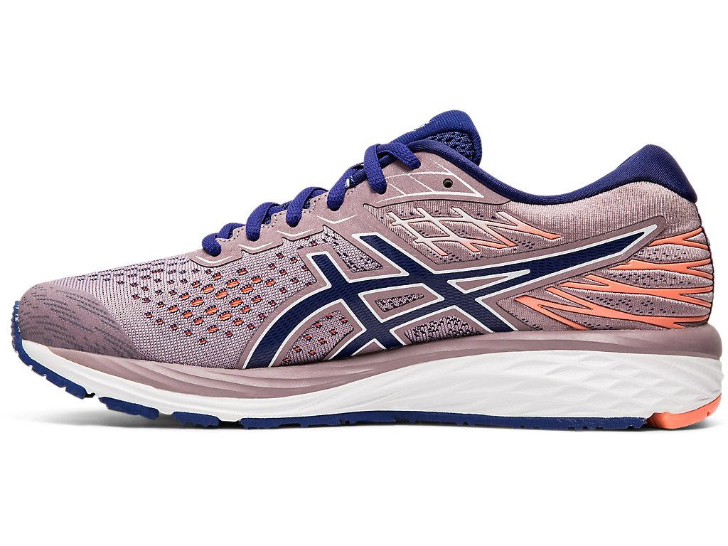 Correspondiente a Babosa de mar Mercurio  Women's GEL-CUMULUS 21 | Violet Blush/Dive Blue | Running Shoes | ASICS