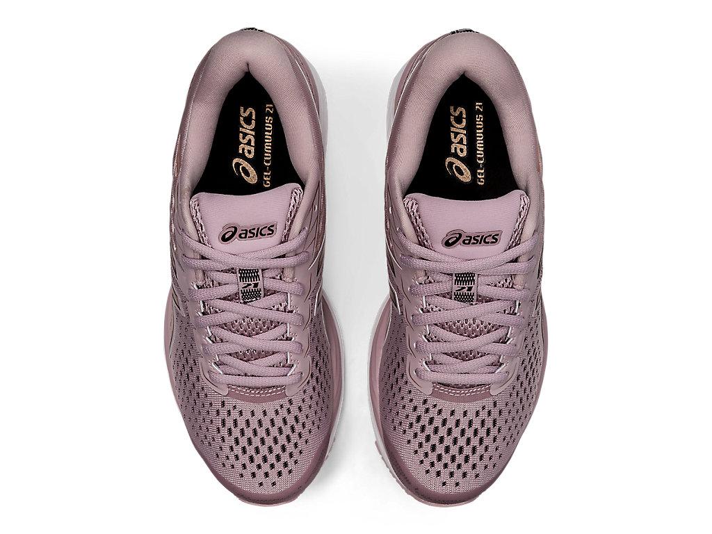 Women's GEL-CUMULUS 21 | Watershed Rose/Rose Gold | Running Shoes ...