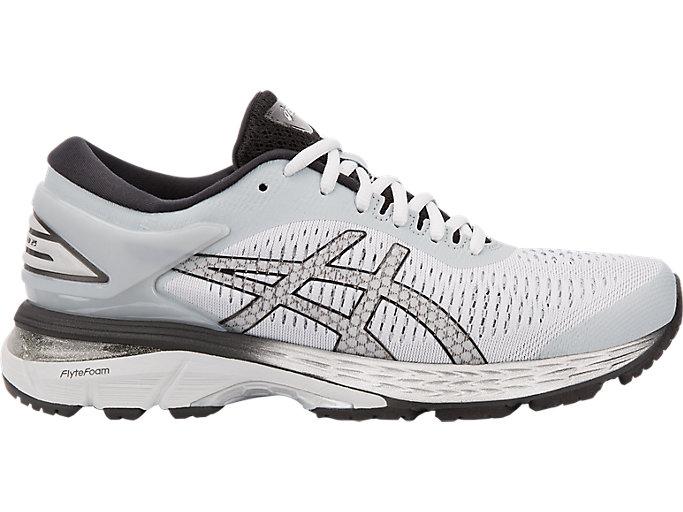 Women's GEL-Kayano 25 | Mid Grey/Black | Running Shoes | ASICS