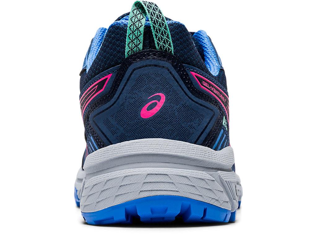 Women's GEL-VENTURE 7   Peacoat/Hot Pink   Running Shoes   ASICS