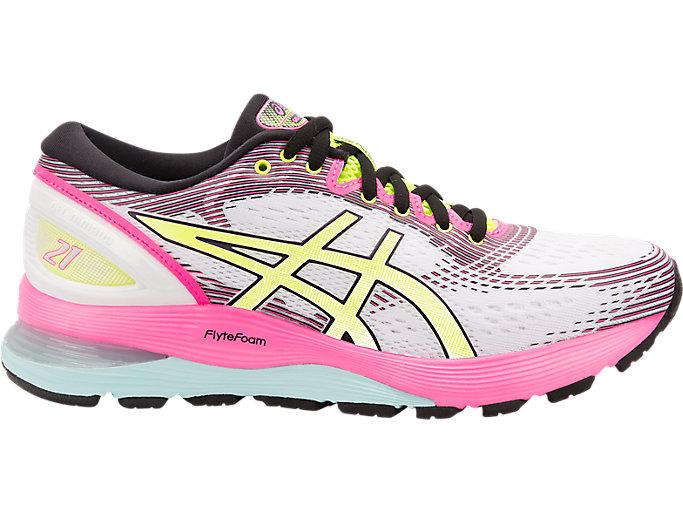Women's GEL-Nimbus 21 SP   White/White   Running Shoes   ASICS