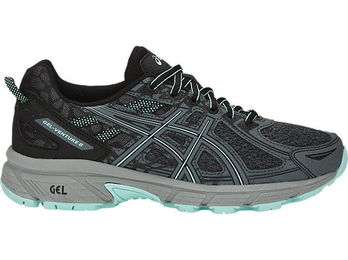 Women's GEL-Venture 6 MX   Steel Grey/Icy Morning   Trail Running ...