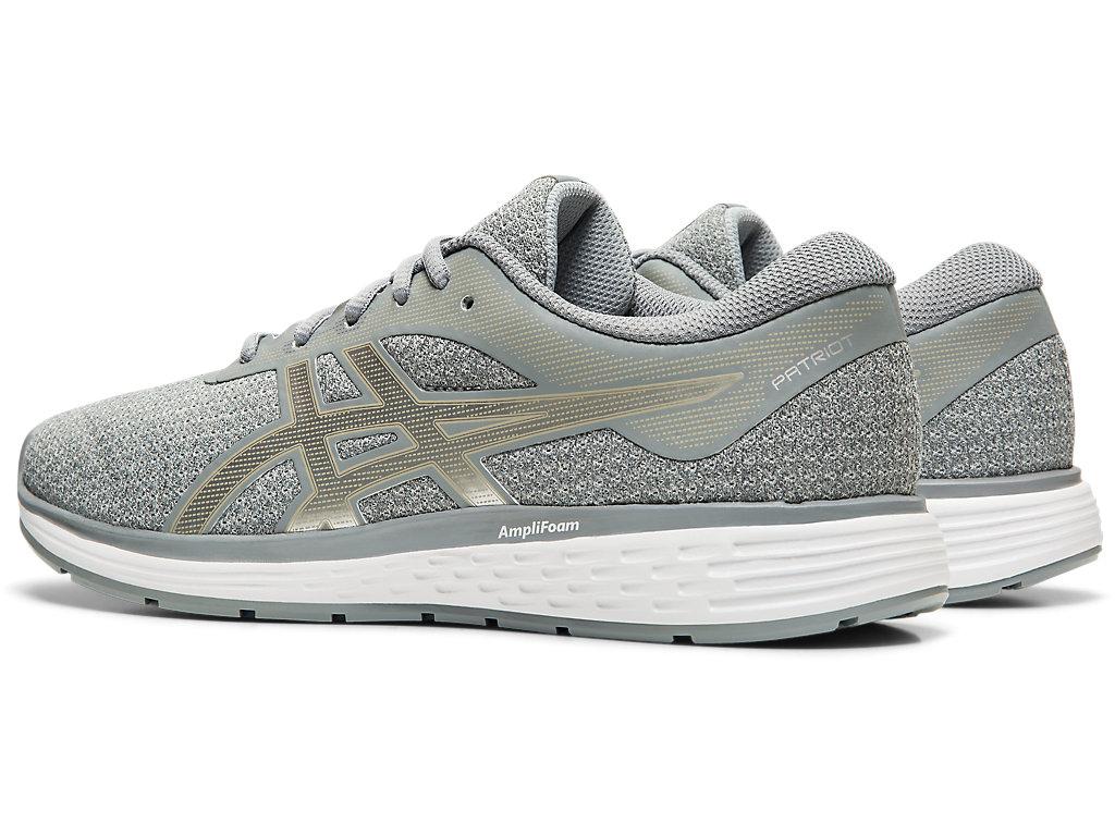 Women's PATRIOT 11 Twist | Sheet Rock/Silver | Running Shoes | ASICS