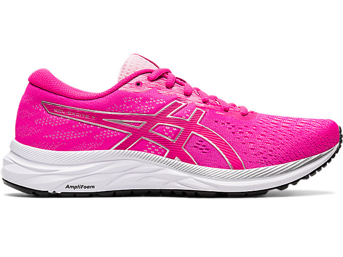 Asics Womens Gel-Excite 7 Running Shoes Trainers Sneakers Pink Sports