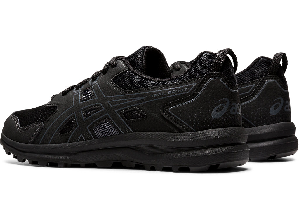 Women's TRAIL SCOUT | Black/Carrier Grey | Trail Running | ASICS