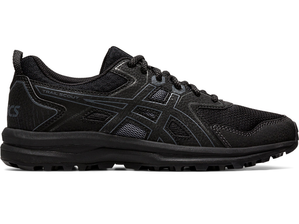 Women's TRAIL SCOUT   Black/Carrier Grey   Trail Running   ASICS