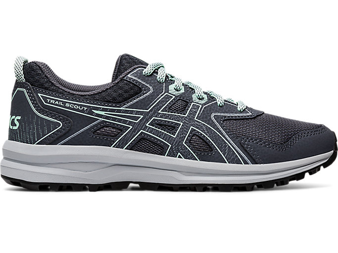 Women's Trail Scout | Carrier Grey/Mint Tint | Trail Running | ASICS