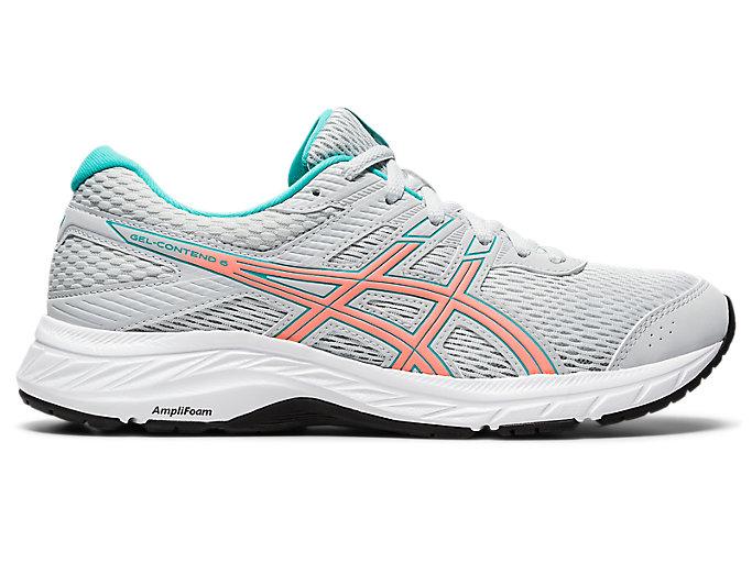 Women's GEL-CONTEND 6 | Polar Shade/Sun Coral | Running Shoes | ASICS