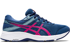 Asics Womens Gel-Contend 6 Running Shoes Trainers Sneakers Black