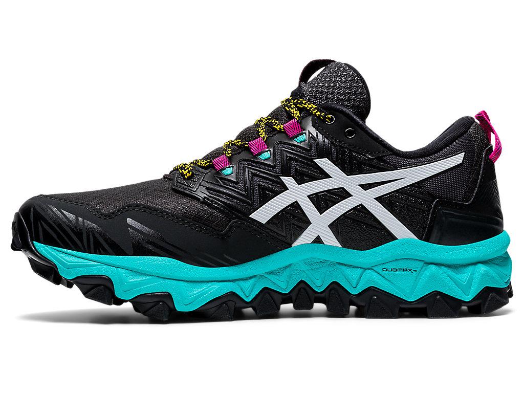 Women's GEL-FujiTrabuco 8 G-TX | Black/White | Trail Running | ASICS