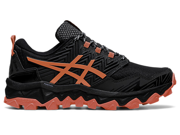 Asics Mens Gel-FujiTrabuco 8 Trail Running Shoes Trainers Sneakers Black