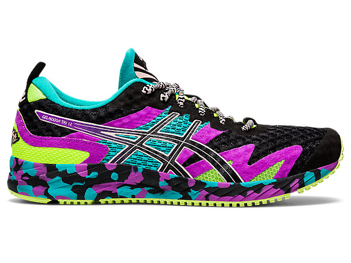 Women's GEL-NOOSA TRI 12 | Black/Black | Running Shoes | ASICS