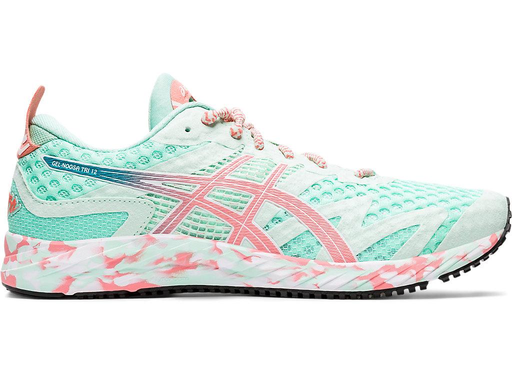 Women's GEL-NOOSA TRI 12   Fresh Ice/Guava   Running Shoes   ASICS