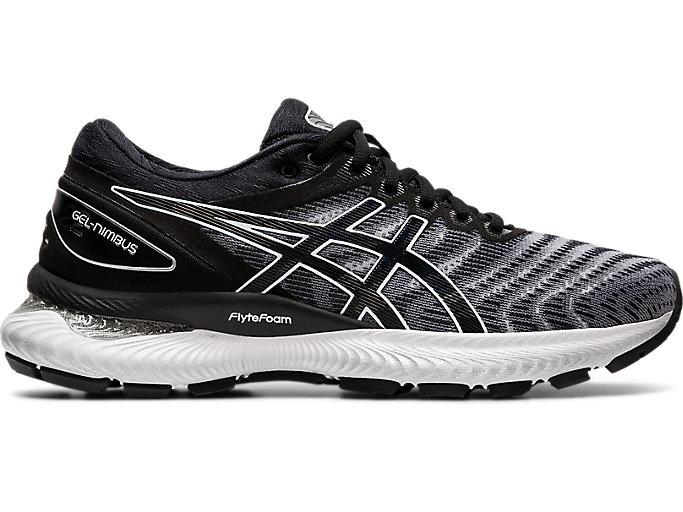 vario Assumere Insoddisfatto  Women's GEL-Nimbus 22 (D) | White/Black | Running Shoes | ASICS