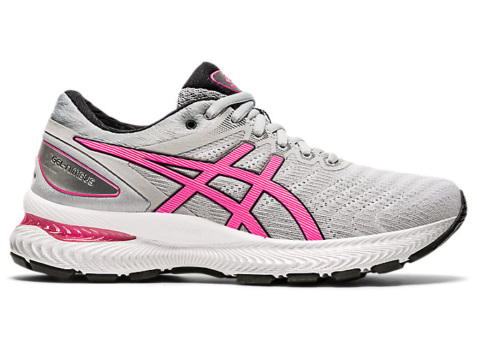 Women's GEL-NIMBUS™ 22 | PIEDMONT GREY/HOT PINK | Zapatillas ...