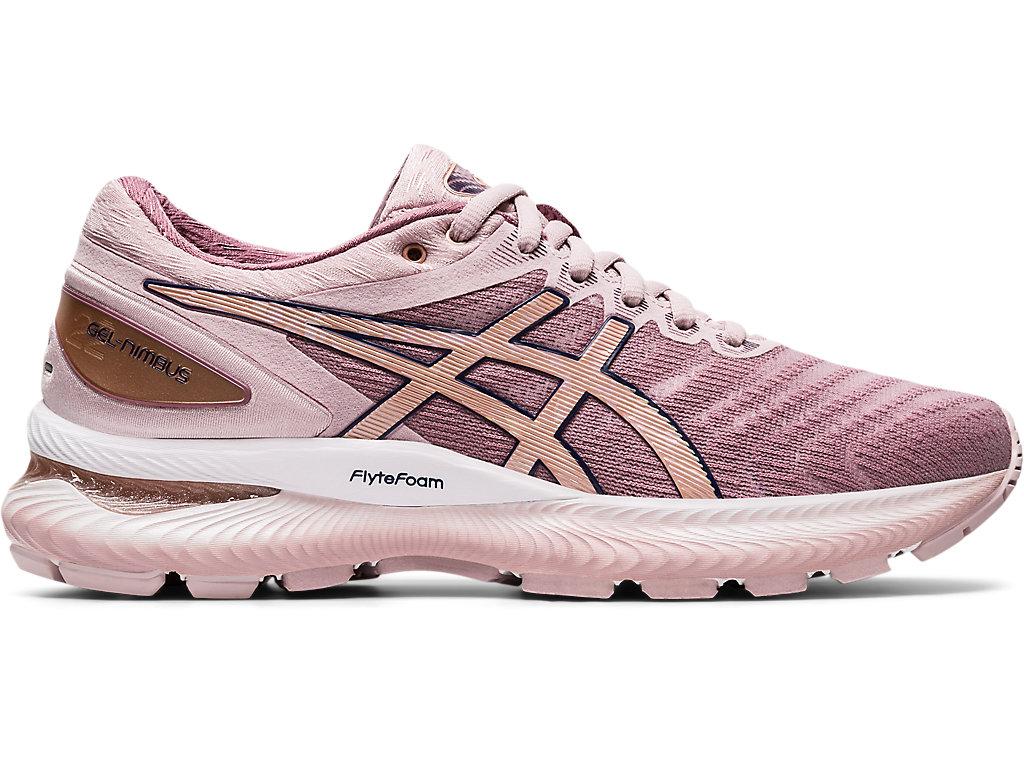 Women's GEL-NIMBUS™ 22 | WATERSHED ROSE/ROSE GOLD | Chaussures ...