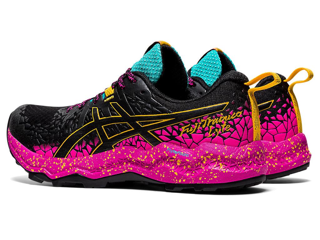 Women's FujiTrabuco Lyte | Black/Pink Glo | Trail Running | ASICS