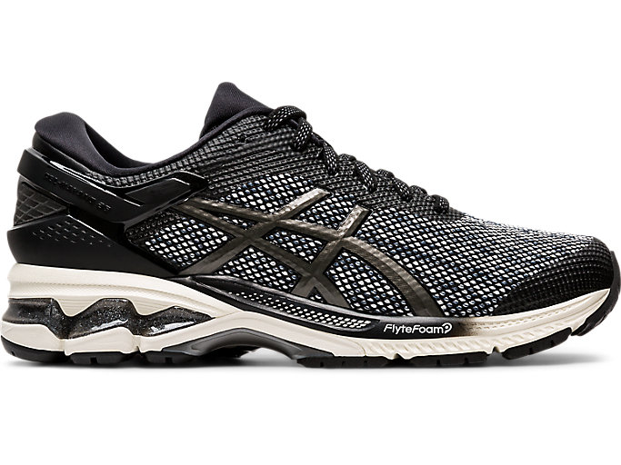 Alternative image view of GEL-KAYANO™ 26 MX, BLACK/GUNMETAL