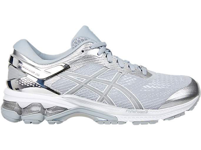 Alternative image view of GEL-KAYANO™ 26 PLATINUM, Piedmont Grey/Silver