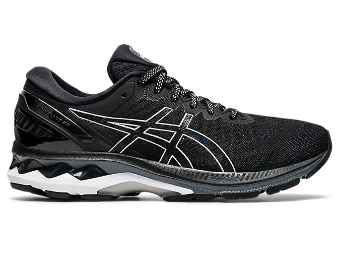 Alternative image view of GEL-KAYANO 27, Black/Pure Silver