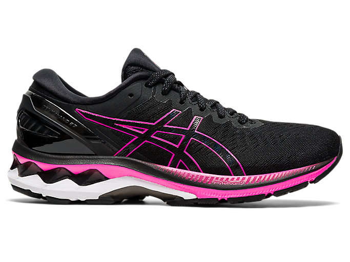 Alternative image view of GEL-KAYANO™ 27, BLACK/PINK GLO