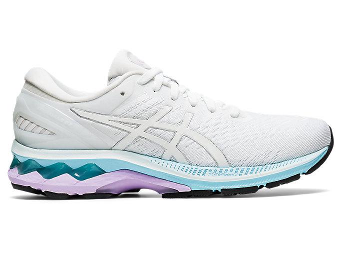 Posicionar Monumento Regulación  Women's GEL-KAYANO 27 | White/Pure Silver | Running Shoes | ASICS