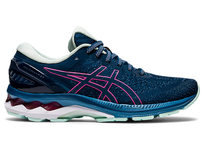 Alternative image view of GEL-KAYANO™ 27, MAKO BLUE/HOT PINK