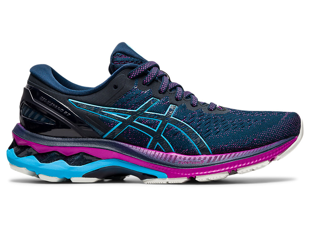 Zoom image of Alternative image view of GEL-KAYANO 27, French Blue/Digital Aqua