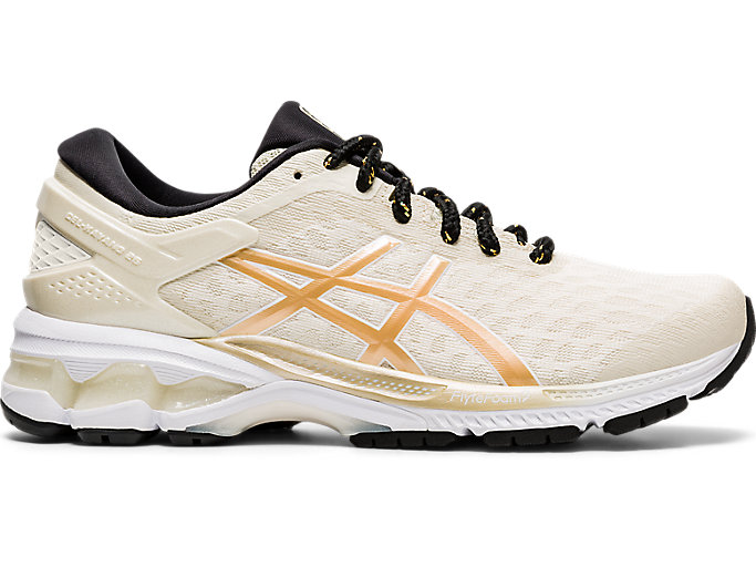 Alternative image view of GEL-KAYANO 26, BIRCH/CHAMPAGNE