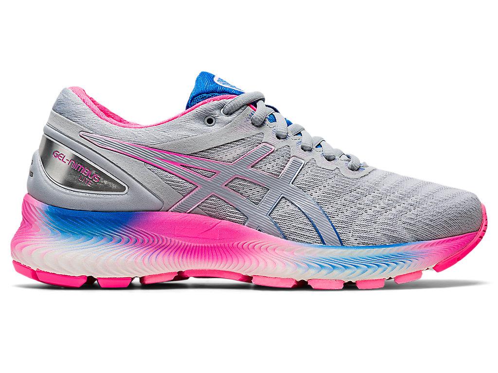 Women's GEL-NIMBUS LITE   White/Piedmont Grey   Running Shoes   ASICS