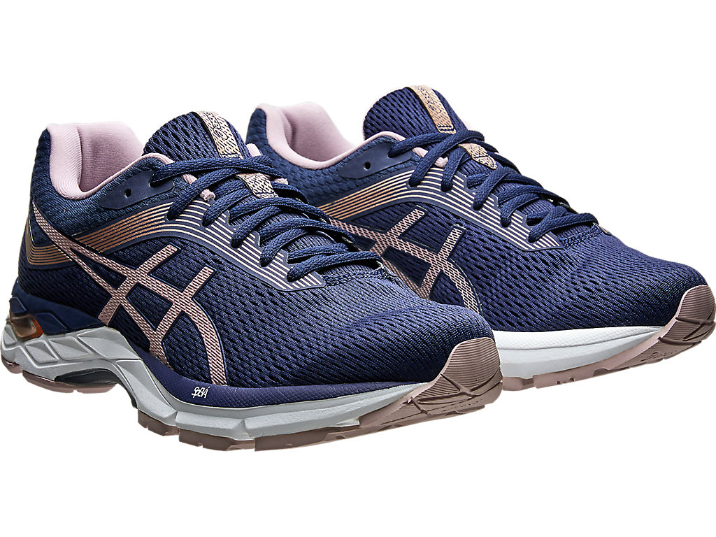 Women's GEL-ZONE 7   PEACOAT/WATERSHED ROSE   Running   ASICS Outlet