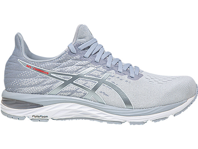 Women's GEL-CUMULUS 21 KNIT | Polar Shade/White | Running Shoes ...
