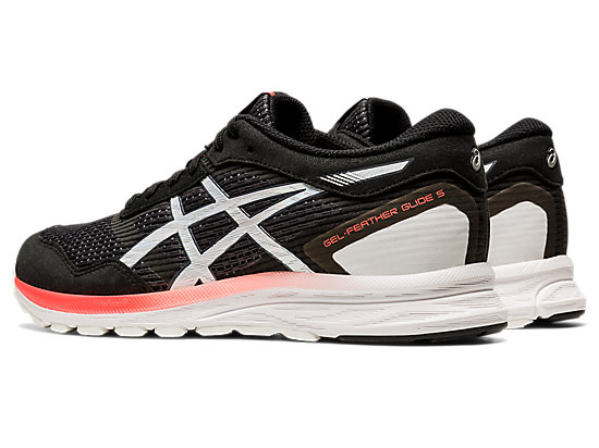 GEL-FEATHER GLIDE 5 BLACK/SUNRISE RED