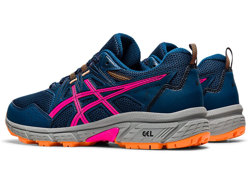 Women's GEL-VENTURE 8 (D) | Mako Blue/Pink Glo | Trail Running | ASICS