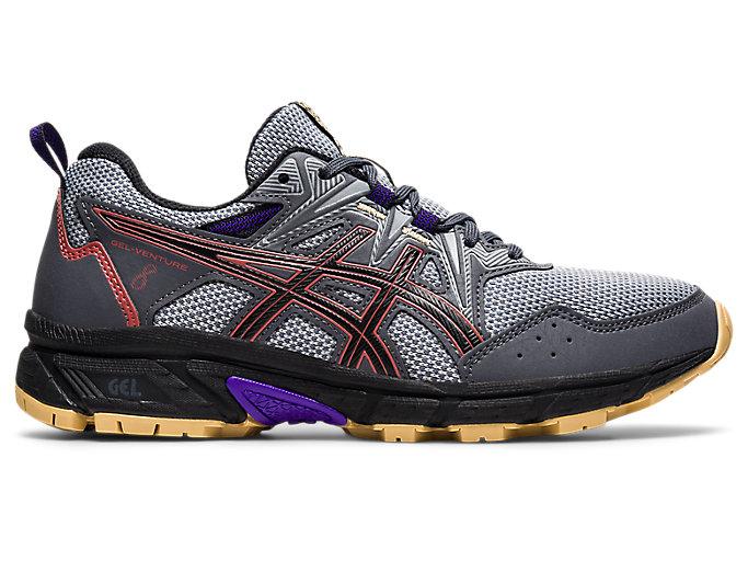 Women's GEL-VENTURE 8 | Carrier Grey/Red Brick | Trail Running | ASICS