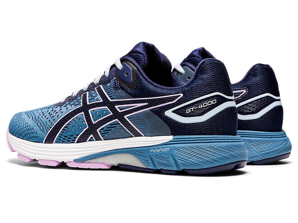 Women's GT-4000 2   Grey Floss/Peacoat   Running Shoes   ASICS