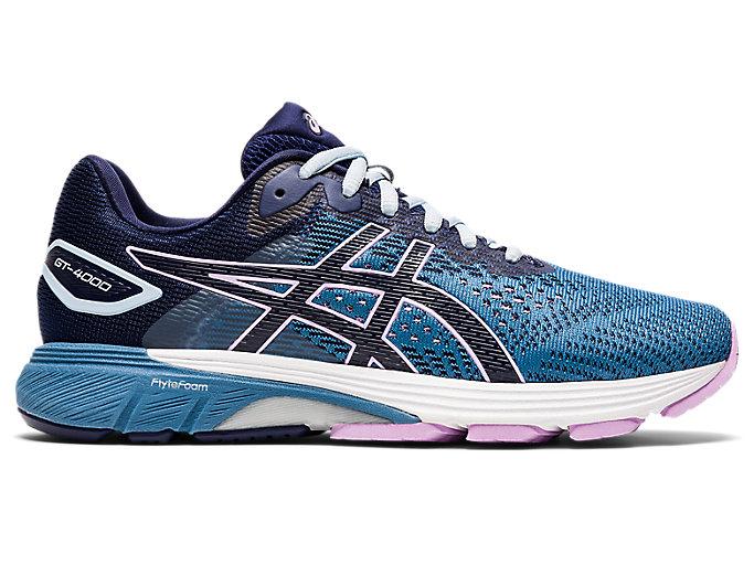 Women's GT-4000 2 | Grey Floss/Peacoat | Running Shoes | ASICS