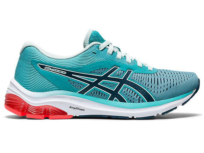 Women's GEL-PULSE 12 | Techno Cyan/Magnetic Blue | Running Shoes ...