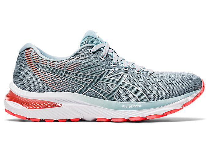 Women's GEL-CUMULUS 22 (2A) | Piedmont Grey/Light Steel ...