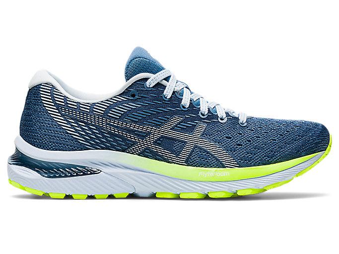 Women's GEL-CUMULUS 22 | Grey Floss/White | Running Shoes | ASICS