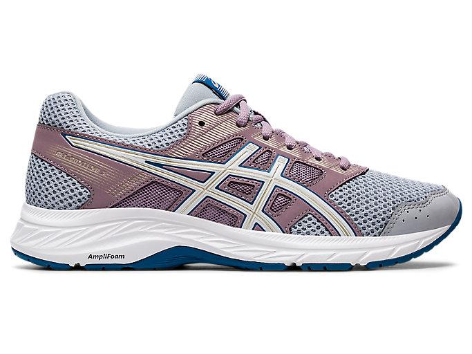 Women's GEL-CONTEND 5 | Piedmont Grey/White | Running Shoes | ASICS