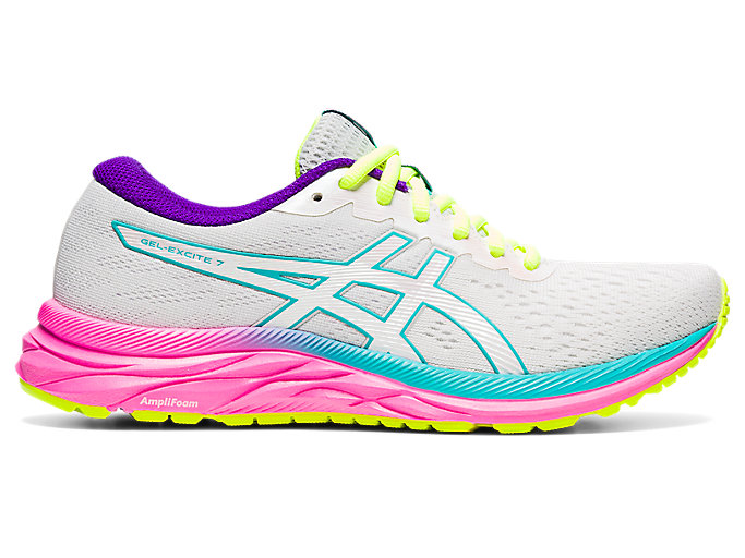 Women's GEL-EXCITE 7 | Polar Shade/White | Running Shoes | ASICS