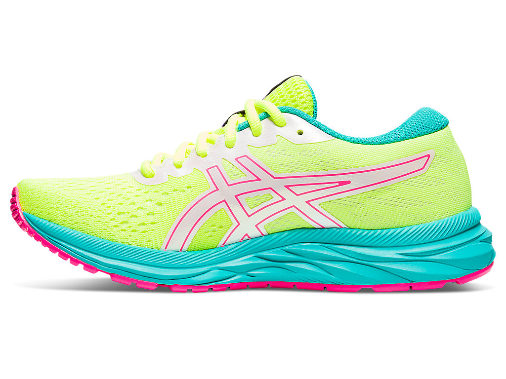 Women's GEL-EXCITE 7 | Safety Yellow/White | Running Shoes | ASICS
