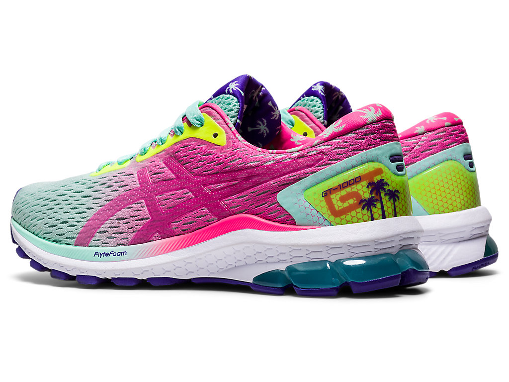 Women's GT-1000 9 | Fresh Ice/Hot Pink | Running Shoes | ASICS
