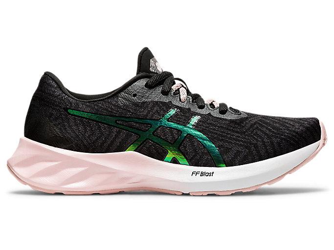 Women's ROADBLAST   Graphite Grey/Ginger Peach   Running Shoes   ASICS